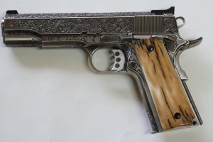 Remington 1911 Engraved 6